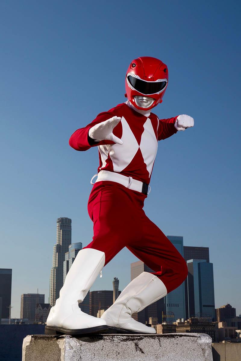 Superhero power ranger party character for kids in chicago